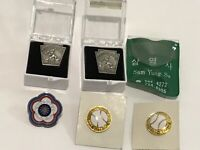 Mixed Lot of 5 Little League World Series Pins LLWS Foreign Tampa Chinese Korea