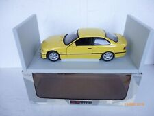 1:18 UT MODELS BMW M3 COUPE (E 36) 1996  IN YELLOW SUPERBB IN ORIGINAL  BOX !!
