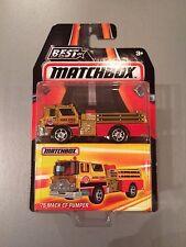 2016 Best of Matchbox 75 Mack CF Pumper - MB964 - Fire Engine Truck