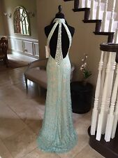 $310 NWT DAVE AND JOHNNY PROM/PAGEANT/FORMAL DRESS/GOWN #1216 SIZE 3/4