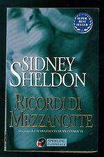 SHELDON SIDNEY RICORDI DI MEZZANOTTE SPERLING PAPERBACK 2001 SUPERBESTSELLER