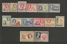 Southern Rhodesia 1953 QEII Set Mint Hinged