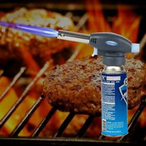 Blow Torch Butane Flamethrower Weed Burner Welding Kitchen Camping Auto Ignition
