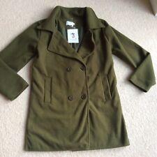 "New tag Witchery green coat XL 16 18 38"" waist"