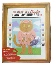 DIY Paint-By-Number Kit Masterpiece Studio Never Opened.
