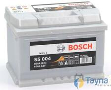 075 Bosch Silver Calcium Car Van Battery S5004 - Next Day Delivery - 5 Yr Wty