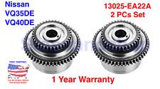 Engine Camshaft Phaser Gear Sprocket Actuator for Nissan Infiniti 3.0L 4.0L 2PCs