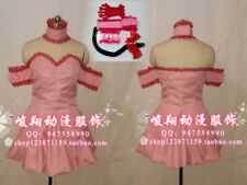 Tokyo Mew Mew Eshop Ichigo (Transfiguration) Cosplay Costume with gloves C018