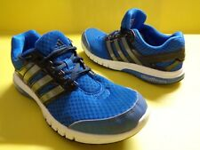 Adidas Cloudfoam chaussures sport toile bleue taille 40½ Turnschuhe réf07 unisex