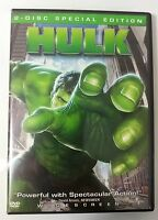 Video DVD - Hulk - 2 Disc Special Edition - LIKE NEW (LN) WORLDWIDE
