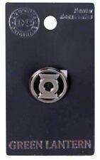 DC Comics Green Lantern Metal Pewter Lantern Logo Lapel Pin, NEW UNUSED
