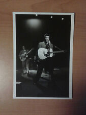 ELVIS PRESLEY REHEARSES WITH HIS BAND NEW YORK CITY,MARCH 1956 PHOTO CARD