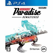Ea Burnout Paradise Remastered Sony Ps4 Playstation 4 Japanese Version