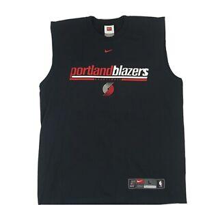 Vintage Nike Portland Trailblazer team  SLEEVELESS Shirt, Made in USA ,Large