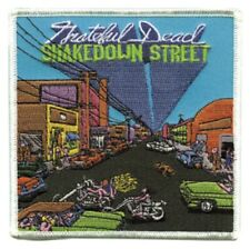 Grateful Dead Shakedown Street Embroidered Patch G052P Pink Floyd