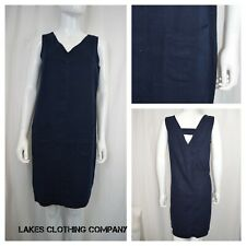 9c195df54a NEXT LADIES LINEN SHIFT DRESS SLEEVELESS HOLIDAY NAVY WHITE PINK BLACK 6-22
