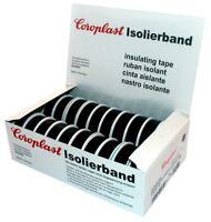 Coroplast Isolierband Box VDE Isoband Klebeband Elektriker Band  > Schwarz  <