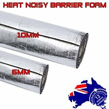 Camper Car Sound Deadening Absorb Material Heat Thermal Block Barrier 6mm /10mm