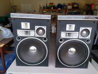 Pair Pioneer Cs -703 Speaker