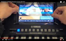 https://www.musik-city.de/ebayDISPLAY Schutzfolie für YAMAHA GENOS Keyboard