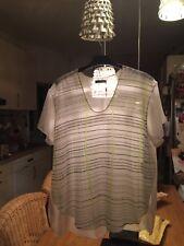 Der Eyecatcher: CALVIN KLEIN Shirt Sommer - nur 1 mal getragen* weiß, XL, NP100€