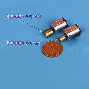 Mini N20 Vibration Motor DC 6V-9V Large Torque Vibrating Vibrator DIY Massager