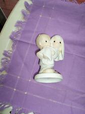 "Enesco 1982 Figurene ""Bless You Two""-Bride & Groom"