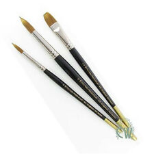 Pro Arte Artists Prolene 3 Brush Set W5. Watercolour, Gouache, Acrylic, inks.