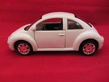 Volkswagen Beetle White 1:38 scale   (2)  Loose