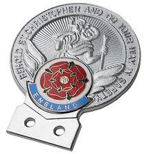 St. Christopher England (Rose)  car grille badge