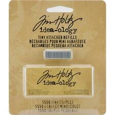 Tim Holtz ~ TINY ATTACHER REFILLS ~ 1550 Staples ~ Idea-ology