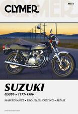 Clymer Repair Service Shop Manual Vintage Suzuki GS550 E/ES/L/M/T Models