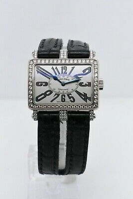 Roger Dubuis Too Much T26 86 0-fd3.63 White Gold Case Silver Dial Dia Bezel 30mm