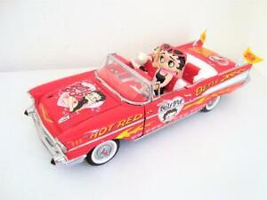 Vintage Betty Boop Danbury Mint 1/24 Chevrolet Bel Air 1957