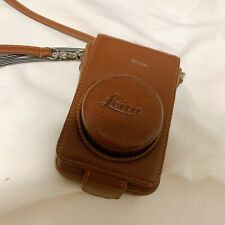 Used vintage Leica Leather Case  Brown for D-Lux cameras