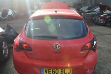 2010 VAUXHALL ASTRA J TAILGATE / BOOTLID - POWER RED (GBH)