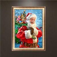 Christmas Santa Claus 5D Full Diamond Painting Embroidery Cross Stitch Kits