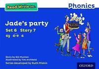 Read Write Inc. Phonics: Blue Set 6 Storybook 7 Jade's Party by Munton, Gill (Pa