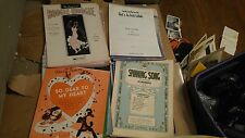 Lot of 28 Song Folios from 1930s-1950s