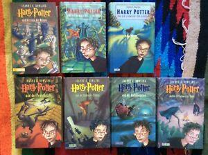 """Harry Potter"" alle 7 Bände Original Geb.Carlsen Verlag"