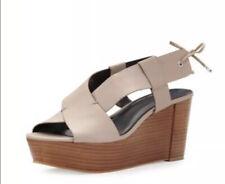 🆕 Rebecca Minkoff Calla Wedge Platform Sandals SIZE 8