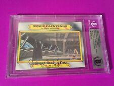 James Earl Jones 1980 Star Wars Empire Strikes Back Card Signed Auto Beckett BAS