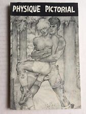 March 1977 Physique Pictorial Gay Men's Erotica Magazine Full Nudes and Art