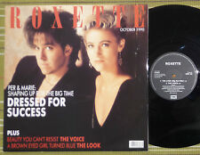 "ROXETTE, DEWSSED FOR SUCCESS, 12"" EP 1990 UK VG+/EX"