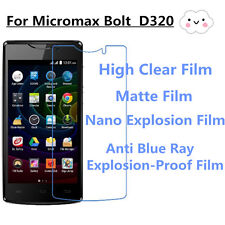 3pcs For Micromax Bolt D320 Good Touch Matte,High Clear Screen Protector