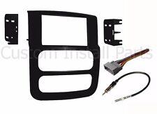 Double DIN Car Stereo Dash Kit Harness Antenna for 2002-2005 Dodge Ram Truck