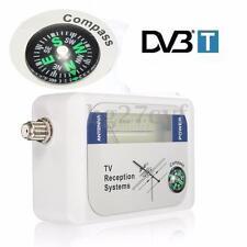 Digital DVB-T Finder TV Aerial Terrestrial Signal Strength Meter + BATTERY CASE