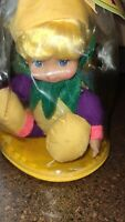Vtg Lemon scented doll in baggie  by Cititoy