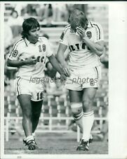 1976 Ron Davies Aztecs Soccer Original News Service Photo