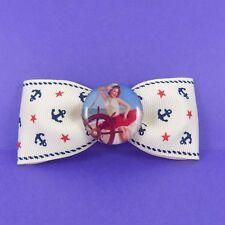 Ancla De Marinero Pin Up Girl Cabello Moño Vintage Rockabilly Falda náutico de Clip 50s